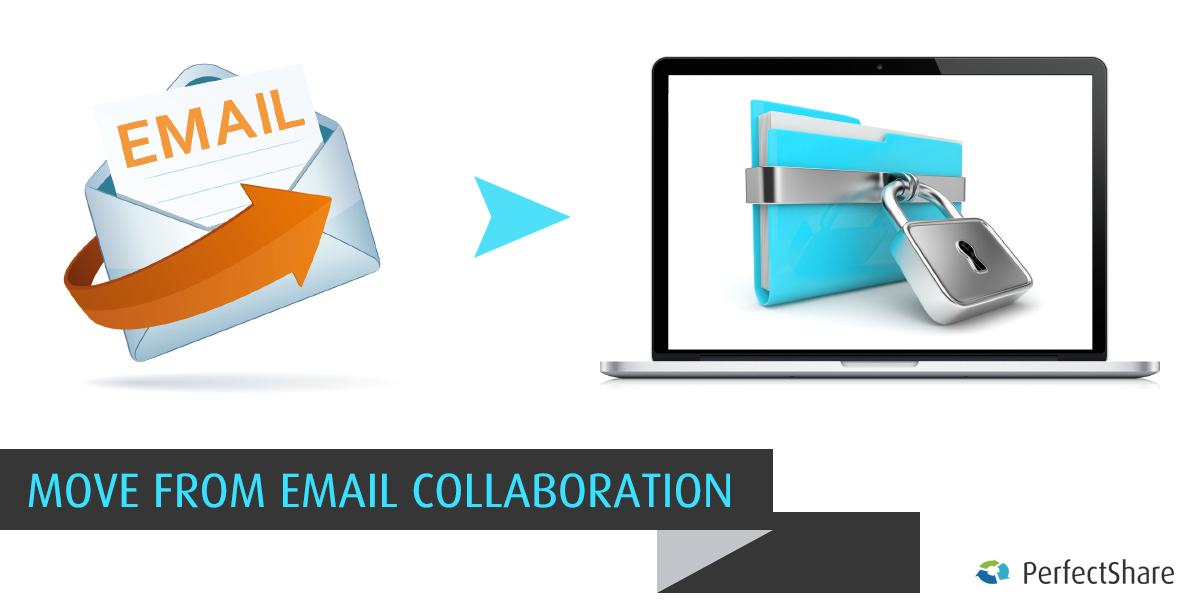 Move from Email data collaboration to Secure file sharing