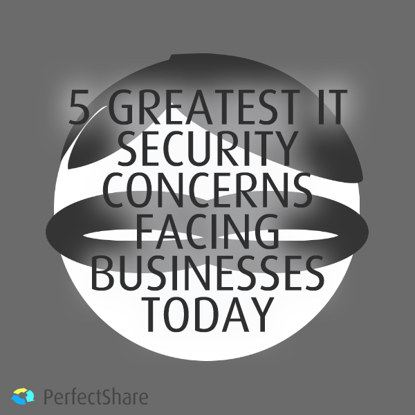 5 Greatest IT Security Concerns Facing Businesses Today [INFOGRAPHIC]