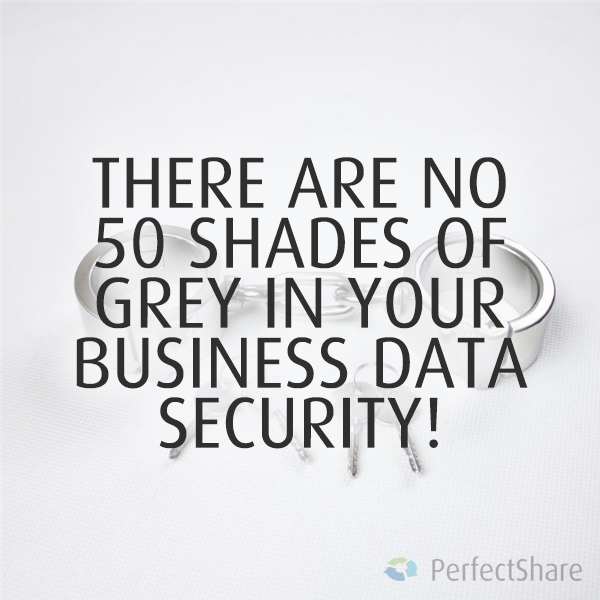 There are no 50 shades of grey in your business data security