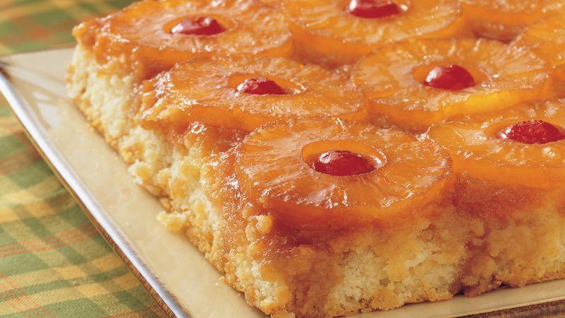 Pineapple Upsidedown Cake Is a Company Branding Dream