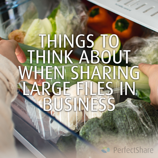 3 Things to think about when sharing large files in business