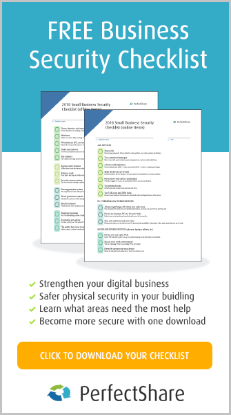 Download your free 2018 small business security checklist